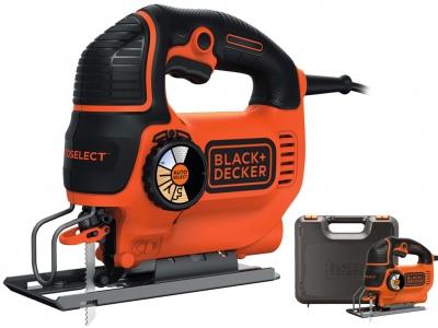 BLACK&DECKER KS901SEK wyrzynarka 620W walizka