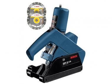 BOSCH GNF 20 CA bruzdownica 115/125mm + 2 tarcze