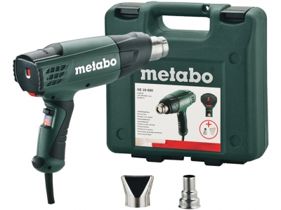 METABO HE 20-600 opalarka 2000W/600C walizka