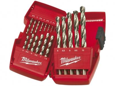 MILWAUKEE 4932352374 wiertła metal HSS-G 19szt  zestaw