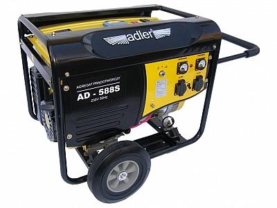 ADLER AD588S agregat prądotwórczy 5,5kW