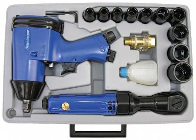 ADLER MA005Z klucz pneumatyczny x2 zestaw