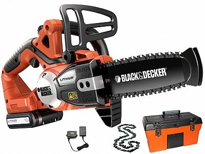 BLACK&DECKER GKC1820L20K piła łańcuchowa akumulatorowa 18V 2,0Ah