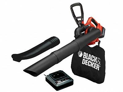 BLACK&DECKER GWC3600L20 dmuchawa odkurzacz do liści 36V 2,0Ah