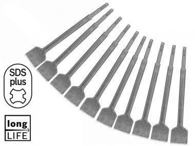 BOSCH dłuto płaskie SDS-PLUS 40mm 250mm