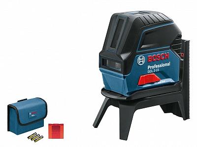 BOSCH GCL 2-15 laser krzyżowy punktowy