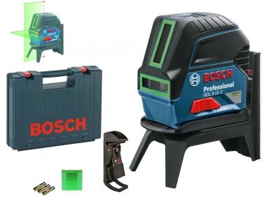 BOSCH GCL 2-15 G laser ZIELONY krzyż punkt