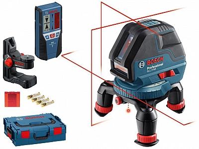 BOSCH GLL 3-50 laser krzyżowy +BM1+LR2