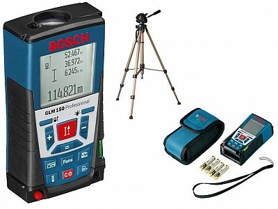 BOSCH GLM 150 dalmierz laser statyw