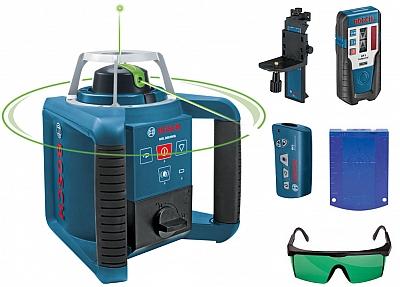 BOSCH GRL 300 HVG laser obrotowy ZIELONY +LR1 WM4