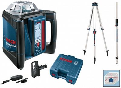 BOSCH GRL 500 H laser obrotowy + LR50 statyw łata
