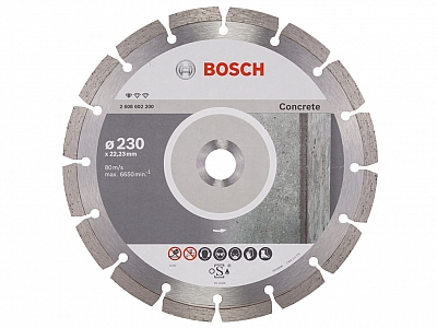 BOSCH tarcza diament beton CONCRETE 230mm