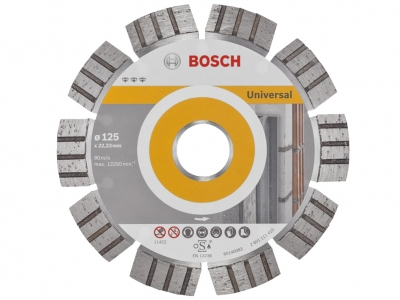 BOSCH tarcza diamentowa beton UNI 115mm