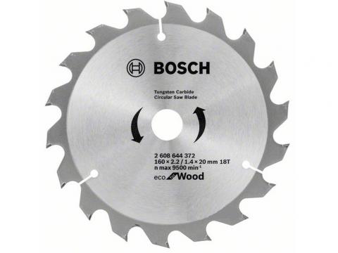 BOSCH tarcza piła tarczowa drewno 160mm/24z/20mm