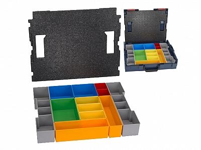 BOSCH wkład 12 szt. pudełek do walizki L-BOXX 102