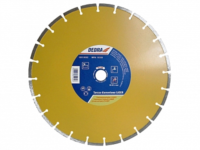 DEDRA H1154 tarcza diamentowa beton klinkier 150mm