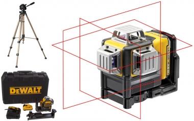 DEWALT DCE089D1R laser krzyżowy + statyw