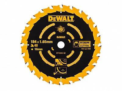 DeWALT DT10303 tarcza piła drewna 184mm/40z/16mm