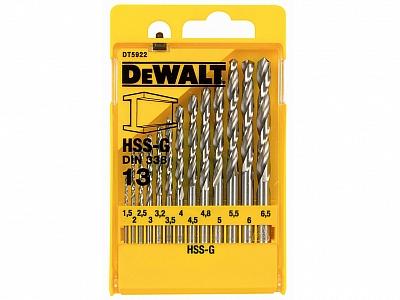 DeWALT DT5922 wiertła HSS-G do metalu