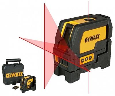 DeWALT DW0822 laser krzyżowy + pion 15m