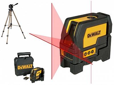 DeWALT DW0822 laser krzyżowy pion statyw