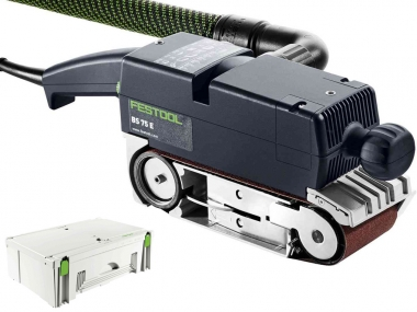 FESTOOL BS 75 E PLUS szlifierka taśmowa 135x75mm