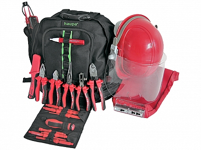 HAUPA plecak na narzędzia zestaw VDE PLUS 21-elem