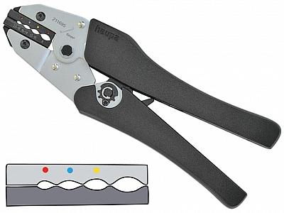 HAUPA praska do złączek owalny 0,5-10mm