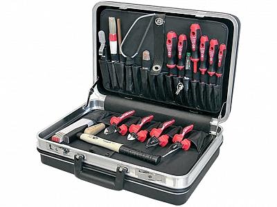 HAUPA walizka na narzędzia BASIC VDE zestaw 19el.