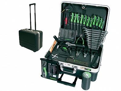 HAUPA 220273 walizka z narzędziami 51 elementów