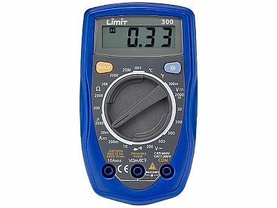 LIMIT 300 LCD multimetr miernik  temperatury elektroniczny