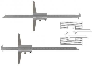 LIMIT 12257-0104 głębokościomierz suwmiarka 200mm