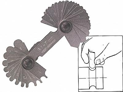 LIMIT 2584-1008 promieniomierz przymiar 1-7mm