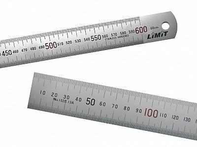 LIMIT przymiar kreskowy stal INOX 600mm