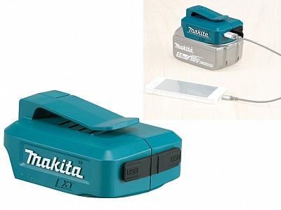 MAKITA DEAADP05 adapter akumulatora ładowarka USB 14,4V / 18V