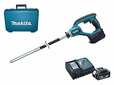 MAKITA DVR450RTE wibrator betonu 18V 1,2m 5,0Ah