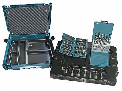 MAKITA B53908 zestaw wiertła bity nasadki 62 elementy