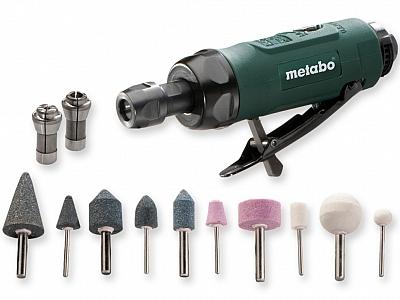 METABO DG 25 SET szlifierka prosta pneumatyczna