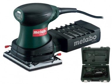 METABO FSR 200 Intec szlifierka oscylacyjna walizka