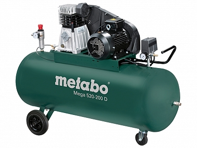 METABO MEGA 520-200D sprężarka kompresor 200L 400V