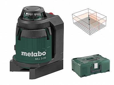 METABO MLL 3-20 laser krzyżowy obrotowy 20m