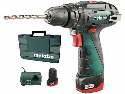 METABO PowerMaxx SB wkrętarka udarowa 34Nm 2x2Ah