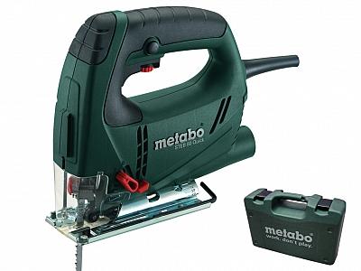 METABO STEB 80 QUICK wyrzynarka 590W walizka