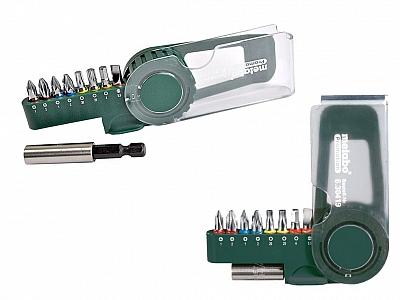 METABO zestaw adapter bity końcówki 9el