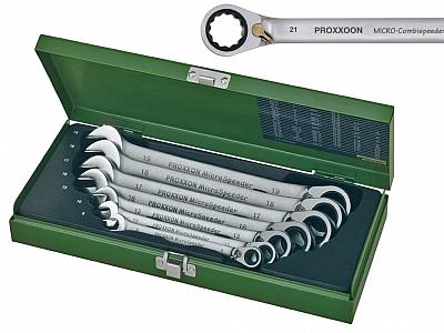 PROXXON 23124 klucz klucze grzechotki zestaw 7el