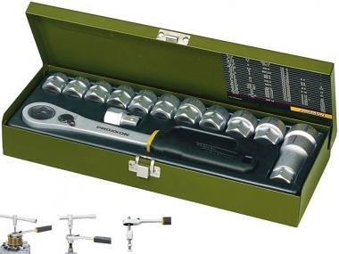PROXXON 23604 klucze nasadowe grzechotka przelotowa 14el