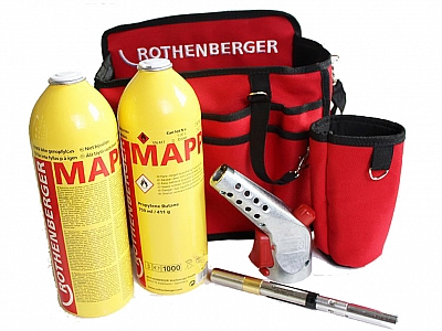 ROTHENBERGER SUPER FIRE 3 HOTBAG palnik