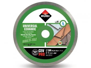 RUBI CEV 180 PRO tarcza diamentowa do płytek 180mm
