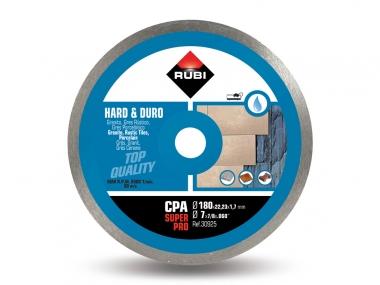 RUBI CPA 180 tarcza diamentowa do gresu 180mm