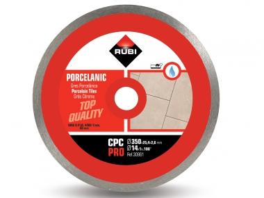 RUBI CPC 350 PRO tarcza diamentowa do gresu 350mm